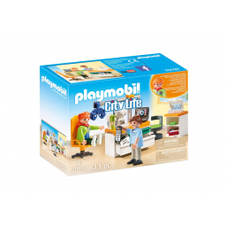 Cabinet d'ophtalmologie - PLAYMOBIL -Figurines, environnements