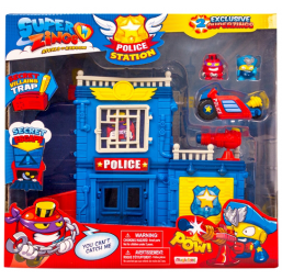 Super Zings police station -  -Figurines, environnements