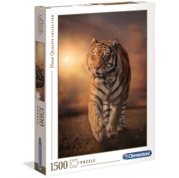 Puzzles  Puzzle High Quality 1500 pièces - Tiger