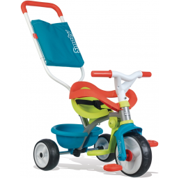 Tricycle Be Move confort bleu - SMOBY -Tricycle, draisienne, trottinette