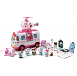 Hello Kitty Playset de secours - SMOBY -Figurines, environnements