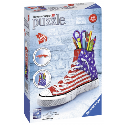 Puzzle 3D Sneaker - American Style - Ravensburger -Puzzles