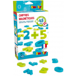 Lettres, chiffres SMOBY 48 Chiffres Magnetiques