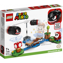 LEGO Super Mario - Ensemble d'extension Barrage de Bill Bourrins - Lego -Jeux de construction