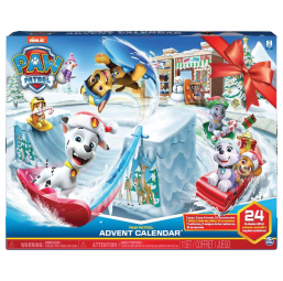 Figurines, environnements Spin Master Calendrier Avent Paw Patrol