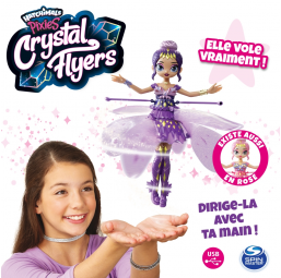 Hatchimals pixies crystal flyers - violette - Spin Master -Figurines, environnements