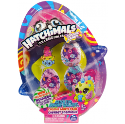 Coffret multipack 4 Hatchimals S8 - Spin Master -Figurines, environnements