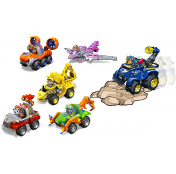 Véhicule avec figurine Dino Rescue Paw Patrol - Spin Master -Figurines, environnements