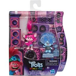2 figurines Trolls 12cm - HASBRO -Figurines, environnements