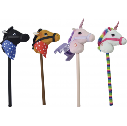 Cheval baton - HAPPY PEOPLE -Doudous et peluches