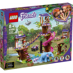 Base sauvetage Jungle Friends - Lego -Jeux de construction