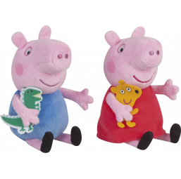 Peppa Pig - Bean Bag 20 cm -  -Doudous et peluches
