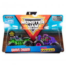Monster Jam - pack de 2 1:64 - Spin Master -Circuits, véhicules