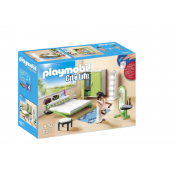 Chambre avec espace maquillage - PLAYMOBIL -Figurines, environnements
