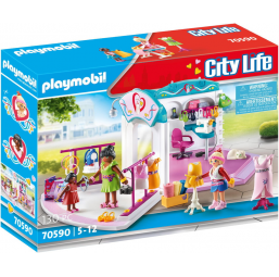 Atelier design de mode - PLAYMOBIL -Figurines, environnements