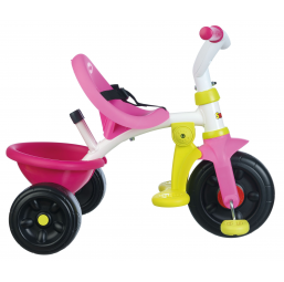 Tricycle, draisienne, trottinette SMOBY Tricycle be fun rose