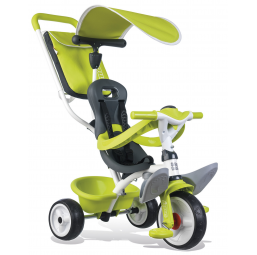 Tricycle, draisienne, trottinette SMOBY Tricycle baby balade vert