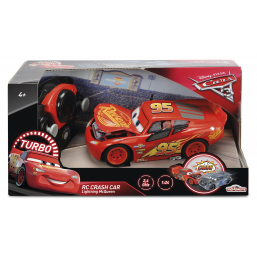 Radiocommandes et robots SMOBY Cars 3 crash Mc Queen 1/24