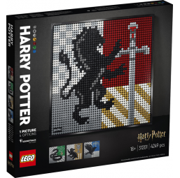 Harry Potter™ Les blasons de Poudlard - Lego -Jeux de construction