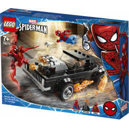 LEGO Marvel - Spider-Man et Ghost Rider contre Carnage - Lego -Jeux de construction