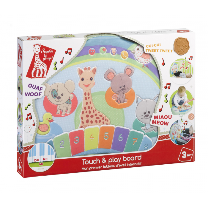 A1504239 Sophie La Girafe - Touch & Play Board