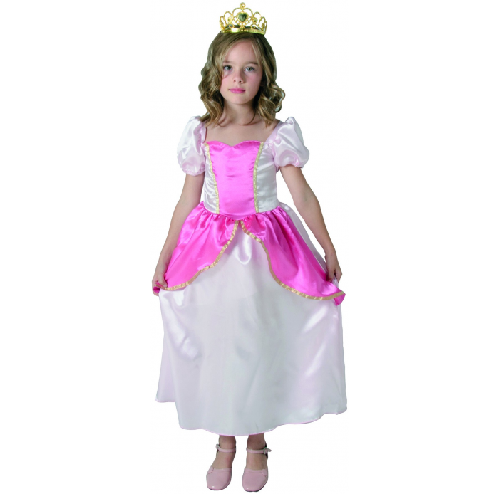 A1702591 Robe princesse rose 5/7 ans