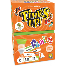 Asmodee A1804711 Time s up family orange