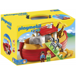 Figurines, environnements PLAYMOBIL Arche de Noé transportable