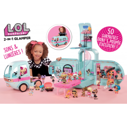 L.o.l. surprise - 2-in-1 glamper -  -Figurines, environnements