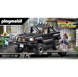 Back to the Future - Pick-up de Marty - PLAYMOBIL -Figurines, environnements