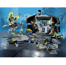 PLAYMOBIL A1802865 Centre de commandement du Dr. Drone