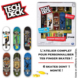 Skate Shop Tech Deck - Spin Master -Figurines, environnements